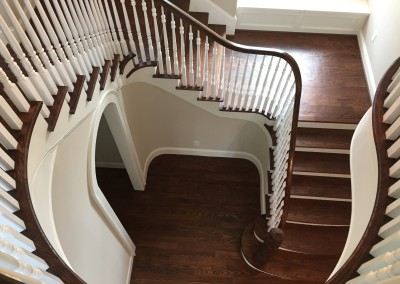 Curved Staircase 53