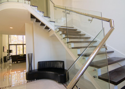 Modern Glass Staircase 21