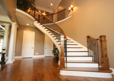 Curved Staircase 57