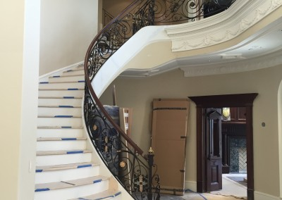 Curved Staircase 34