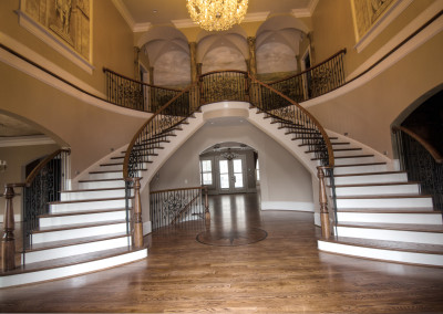 Curved Staircase 7