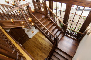 Straight Staircase 73