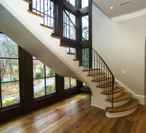 Curved Staircase 58