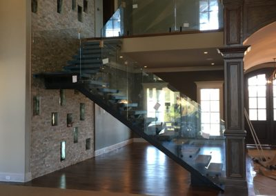 Modern Glass Staircase 13