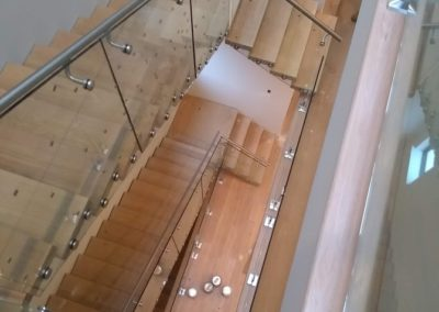 Modern Glass Staircase 14