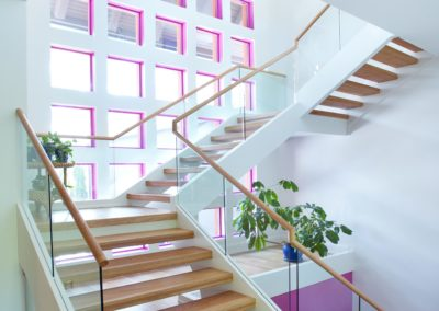 Modern Glass Staircase 20