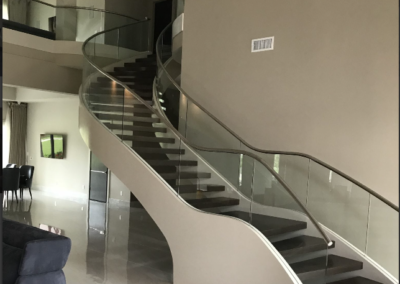 Modern Glass Staircase 5
